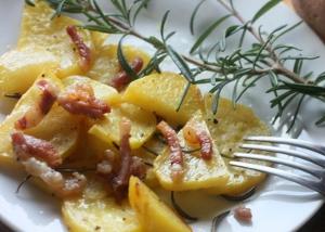 LE NOSTRE (VOSTRE) RICETTE: Patate rosse con la pancetta