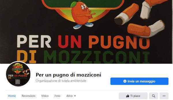 """""""Per un pugno di mozziconi…"""", ecco la pagina facebook"""